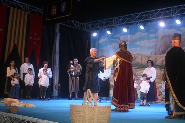 CARTA POBLA.- Benidorm conmemora el 692 aniversario de su otorgamiento a Benidorm por el Almirante Bernat de Sarrià