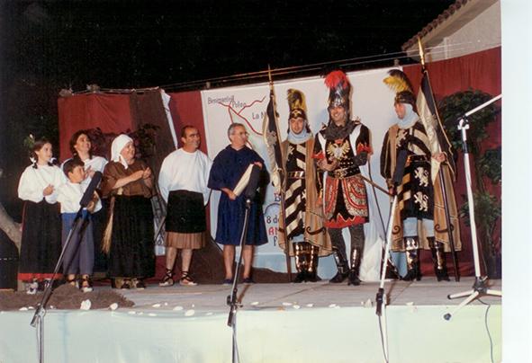 PENYES.-  25 años del el acto de Otorgamiento de la Carta de Poblament a Benidorm