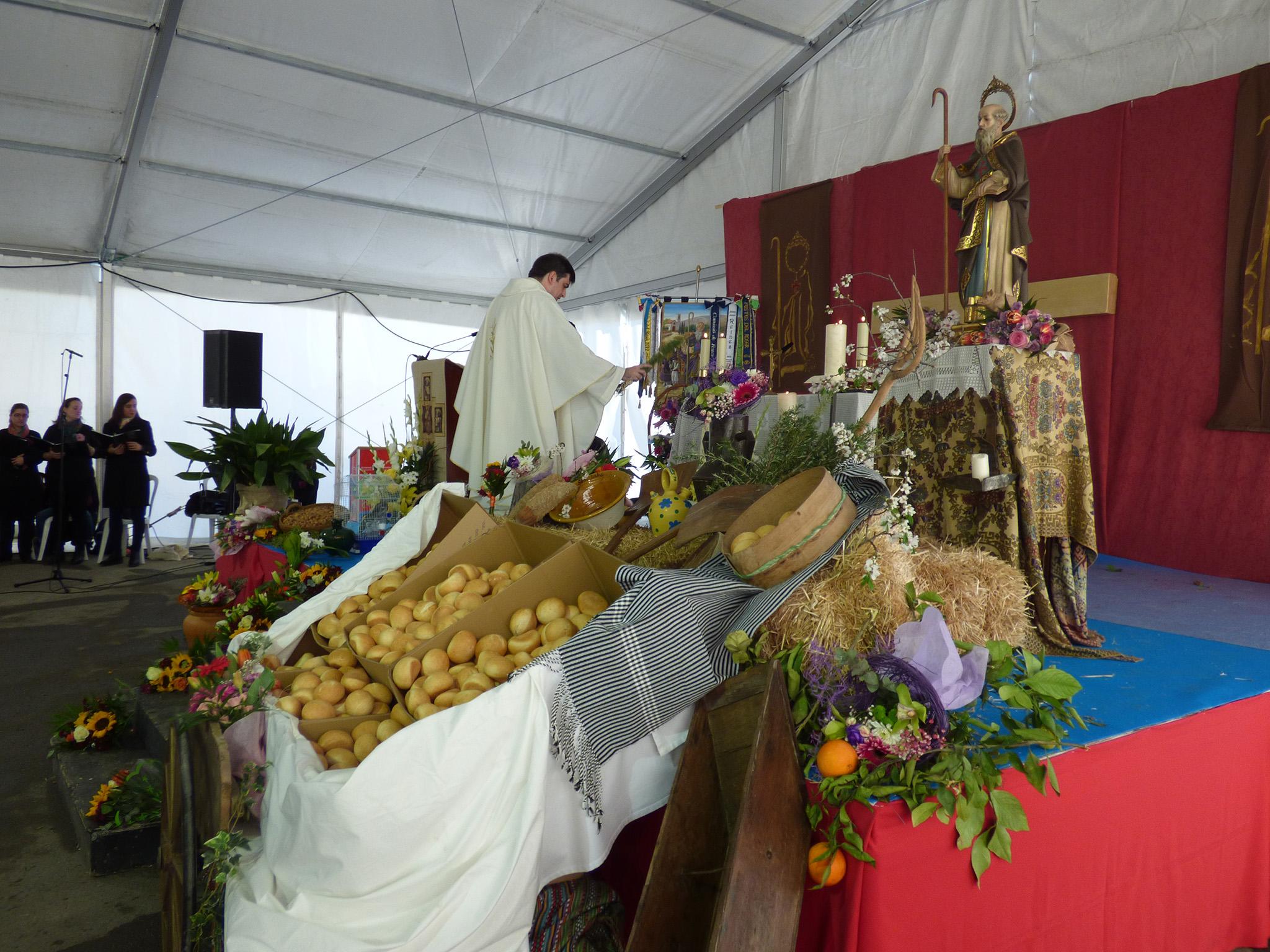 FIESTAS ERMITA.- Tradición y costumbres de l'horta por Sant Antoni