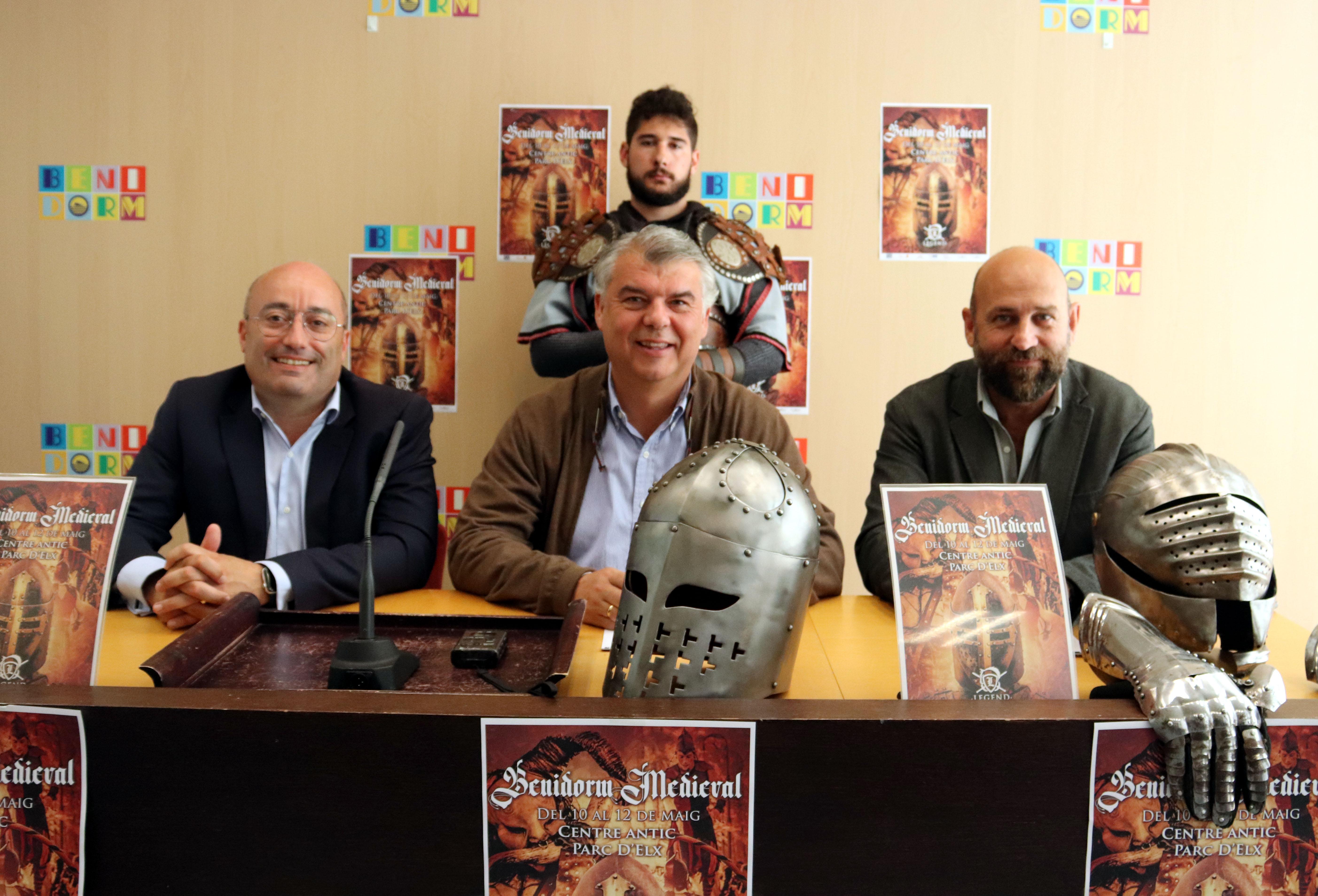 FIESTAS.- Benidorm vuelve a la Edad Media el fin de semana con su Mercado Medieval