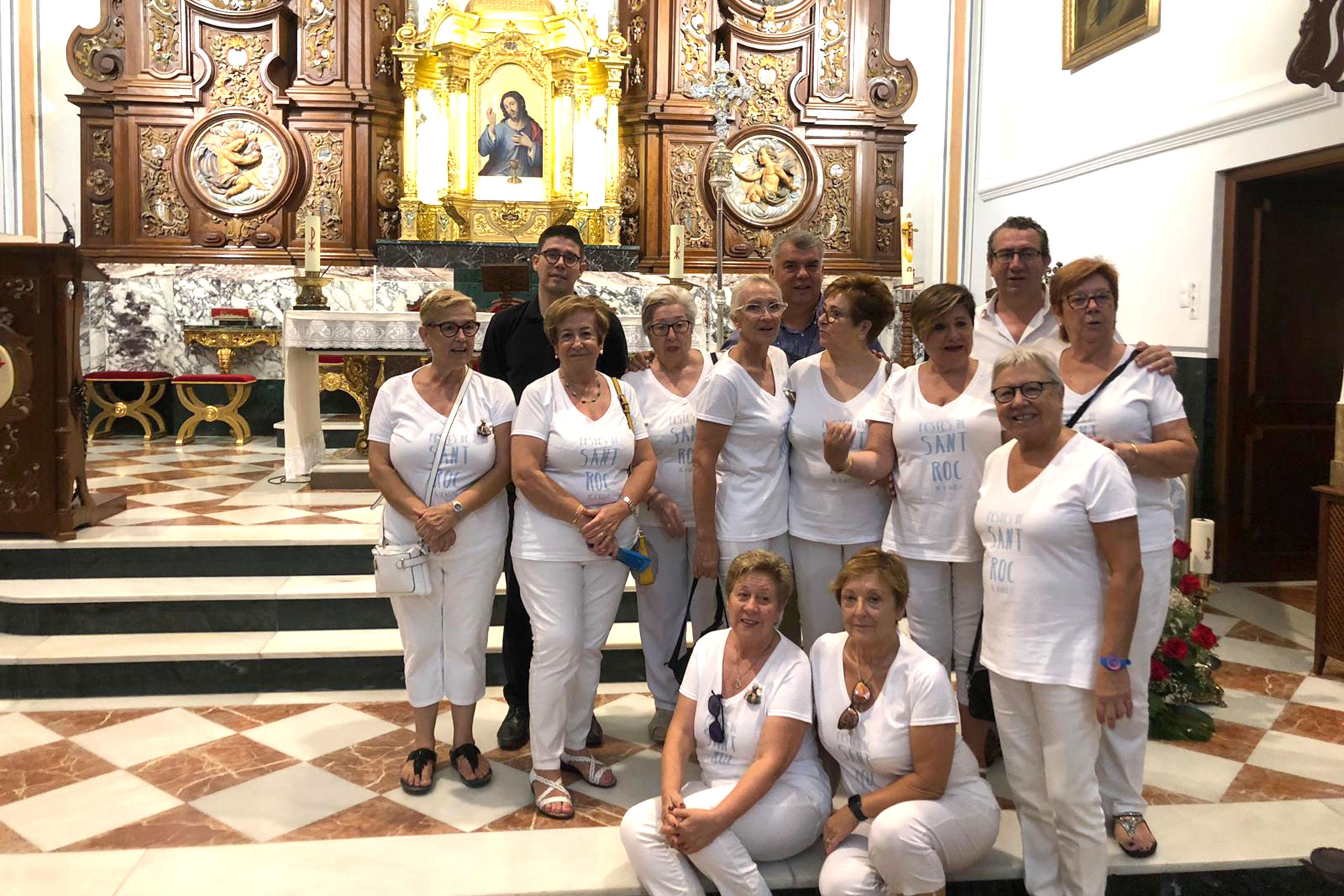 FIESTAS.- La Festa de Sant Roc de Benidorm cumple 22 años