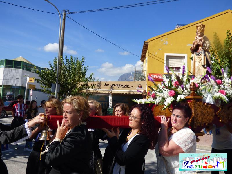 FIESTAS.- Benidorm celebra la festividad de la Virgen de la Almudena