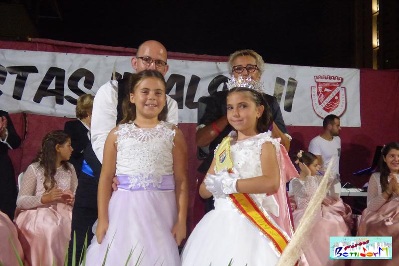 FIESTAS.- La niña María Lozano Prior elegida Reina de las Fiestas de Imalsa 2019