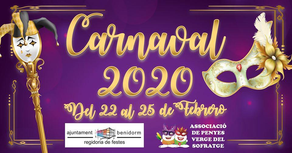 PENYES.- Todo listo  en Benidorm para los  carnaval organizado por la Associació de Penyes 'Verge del Sofratge'