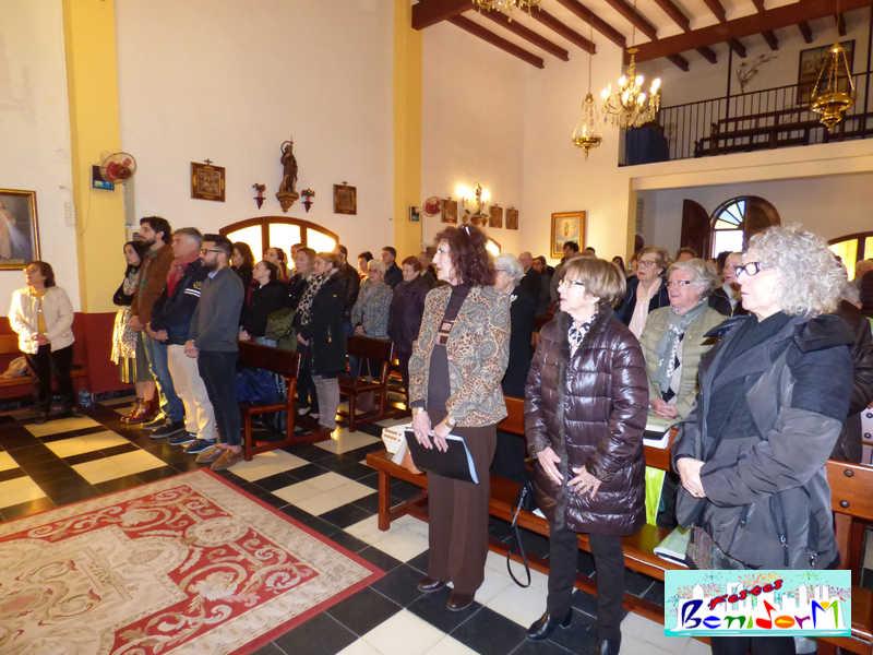 FIESTAS ERMITA.- La Comisión de Sant Antoni 2020 se presentó ante su patrón