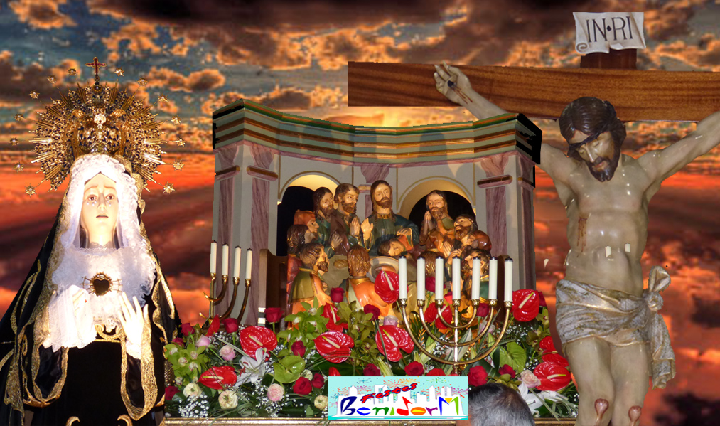 SEMANA SANTA.- Las solemnes procesiones  se viven en las calles del Barrio Foietes