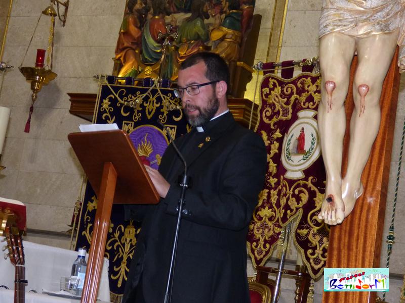 SEMANA SANTA.- Benidorm inicia la celebración de la Semana Santa con el pregón a cargo del sacerdote Jesús Rosillo Peñalver