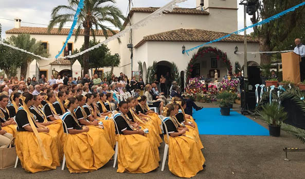 FIESTAS ERMITA.- Fiestas en honor a la Mare de Déu del Roser en  l'Horta de Benidorm