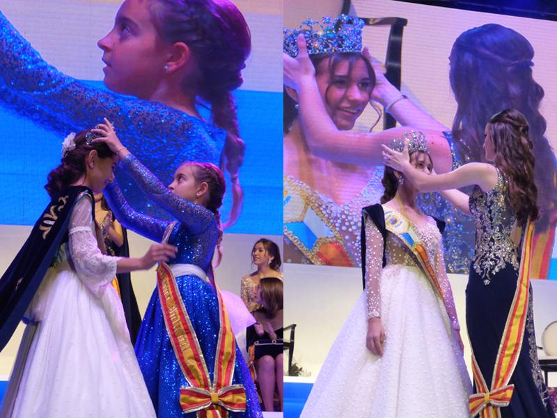 FESTES MAJORS.- Las reinas de las Fiestas Mayores Patronales 2020 de Benidorm fueron coronadas