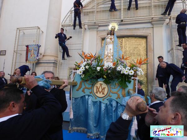FESTES MAJORS.- Benidorm celebra el 280 aniversario de su patrona, la Mare de Déu del Sofratge