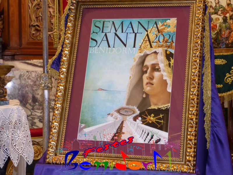 SEMANA SANTA.- Este año no se puede vivir la pasión de la Semana Santa en Benidorm