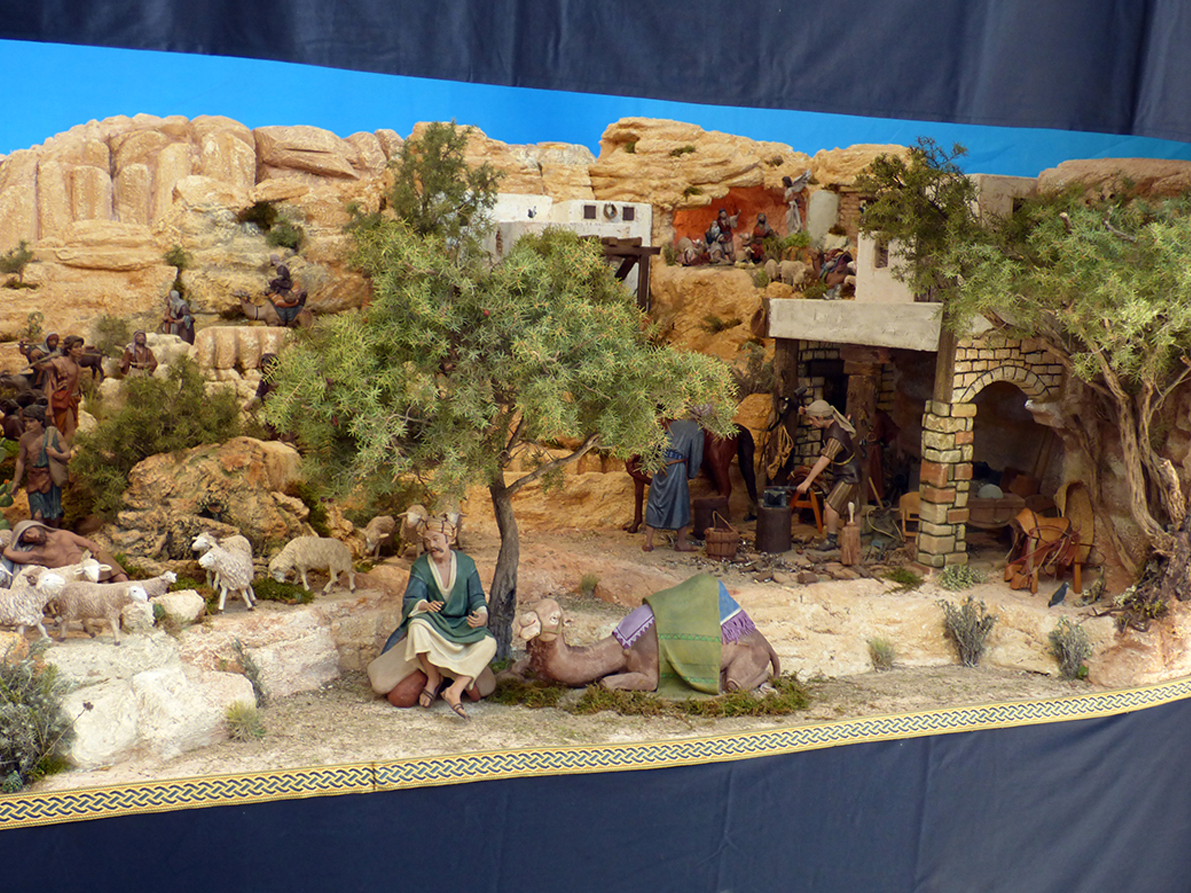 NAVIDAD.- La Asociación Belenista Amics del Betlem de Benidorm expone en el Espai d'Art del Ayuntamiento
