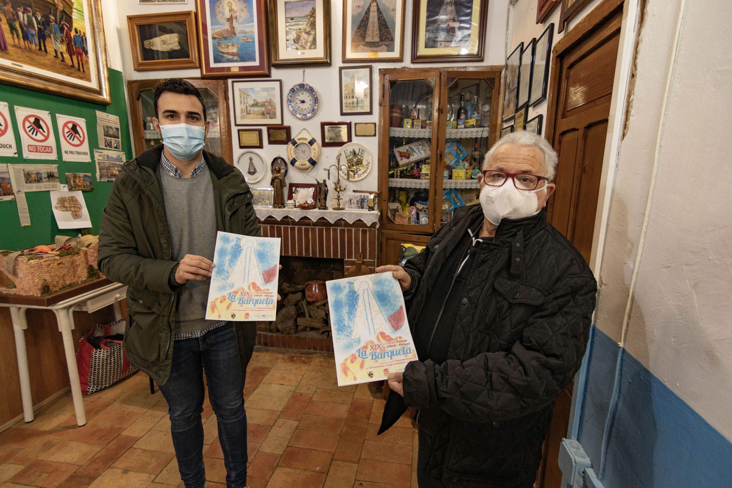 FESTES MAJORS.- 'La Barqueta' convoca la XIX edición de su Certamen de Dibujo y Pintura