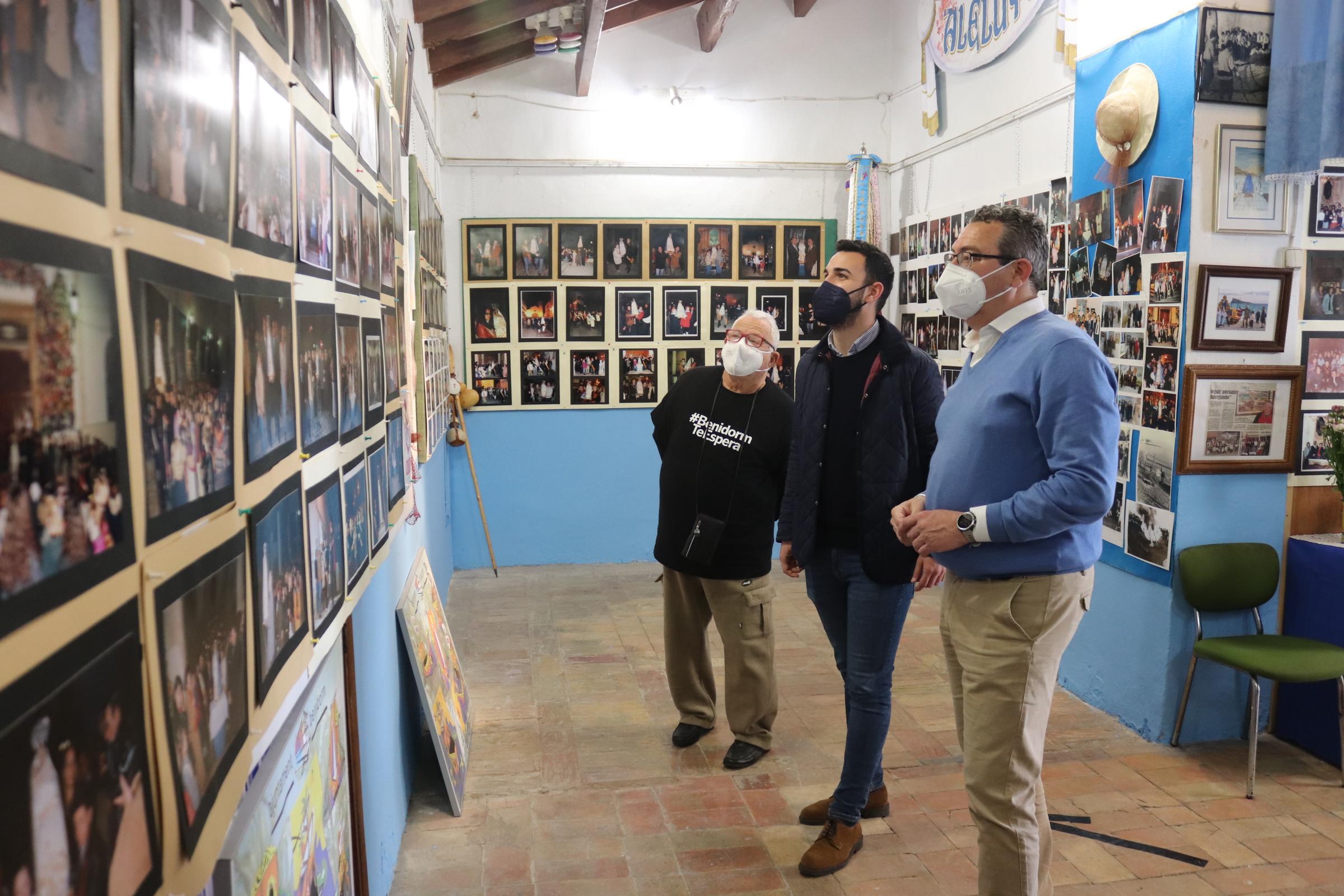 FESTES MAJORS.- La Barqueta acoge una exposición de fotos de l'Alba