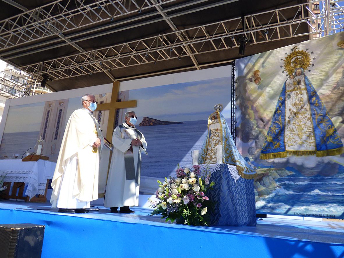 FESTES MAJORS.- Homenaje a la Mare de Déu del Sofratge patrona de Benidorm en su 281 aniversario