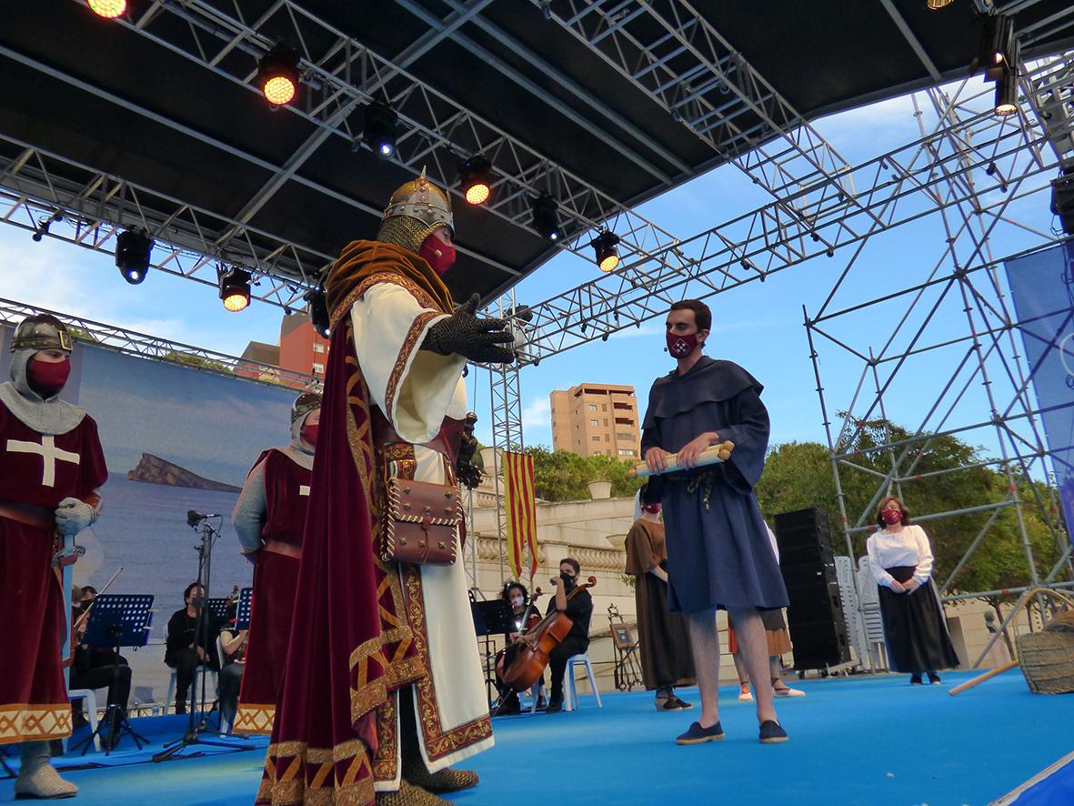 PENYES.- Benidorm conmemora el 696 aniversario de su nacimiento como pueblo