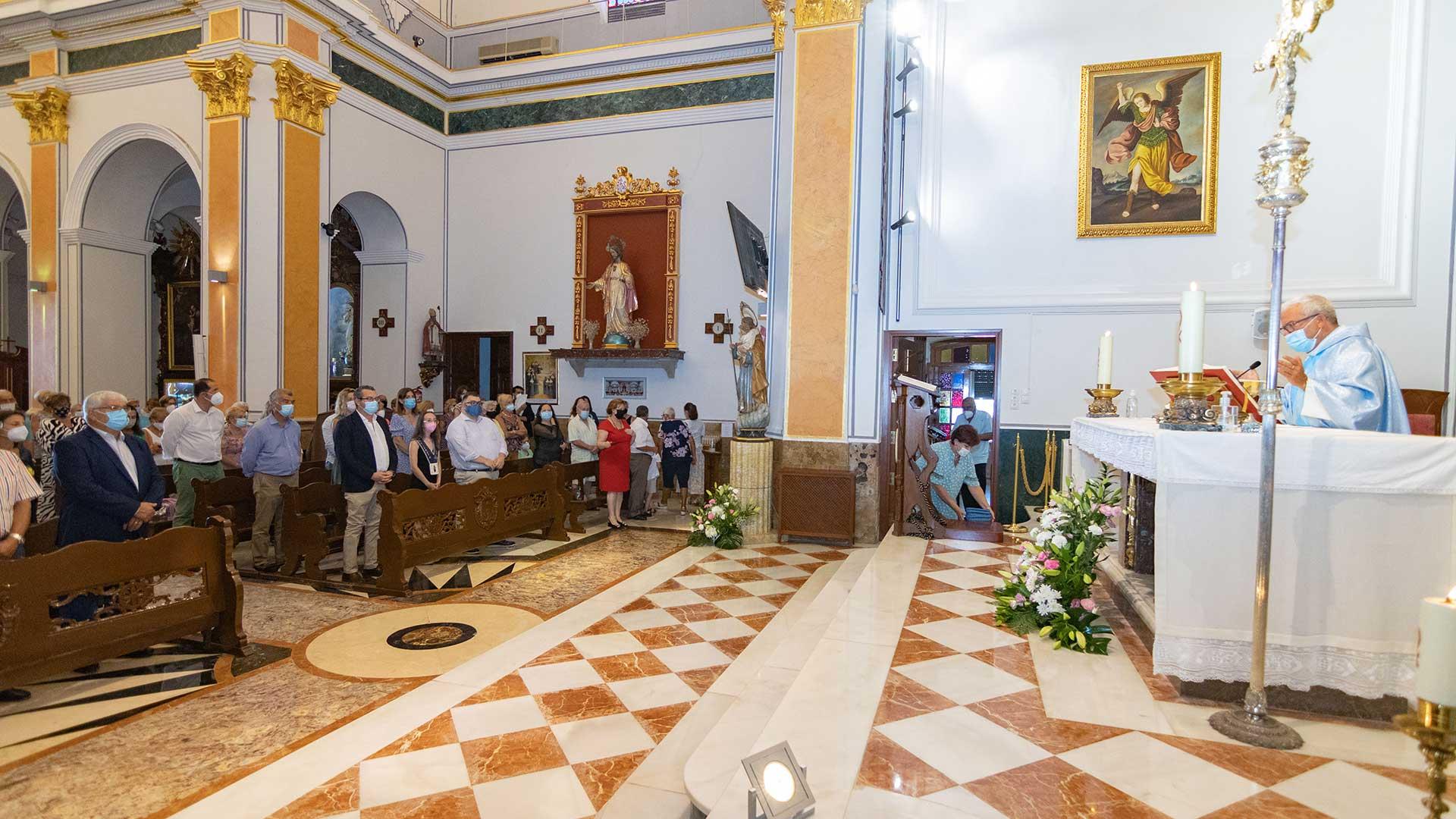 FESTES.- Homenaje a la Virgen del Carmen en Benidorm